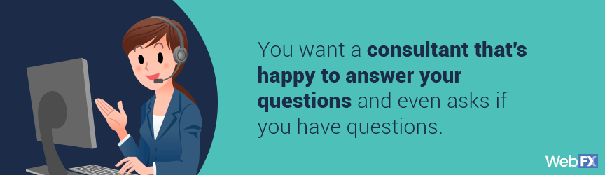 What to look for when asking an Amazon consultant questions