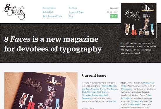 8 Faces magazine