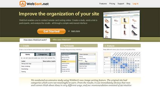 WebSort