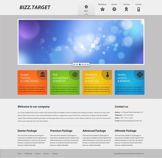 25 Excellent Photoshop Web Design Layout Tutorials