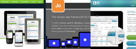 Top 10 MobileWeb Development JavaScript Frameworks