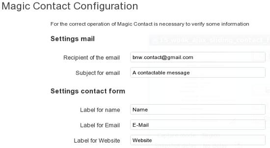 Magic Contact