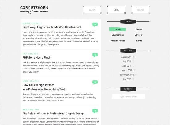 Cory Etzkorn Blog
