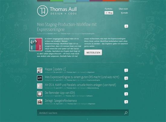 Thomas Aull Blog