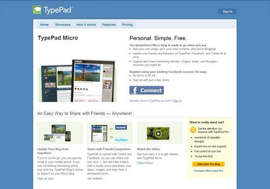 TypePad Micro