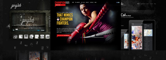 30 Beautiful Dark Website Designs for Inspiration