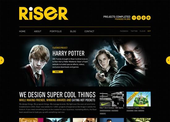 Top Fitness Website Designs