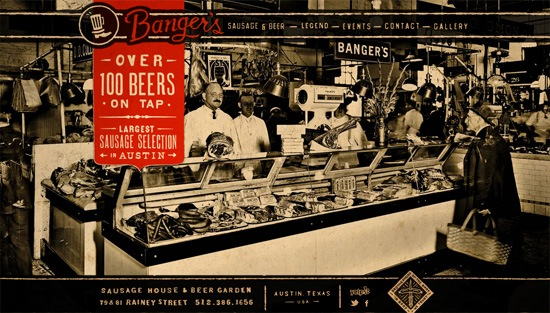Photo background example: Banger's