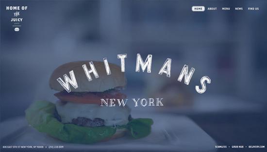 Photo background example: Whitmans