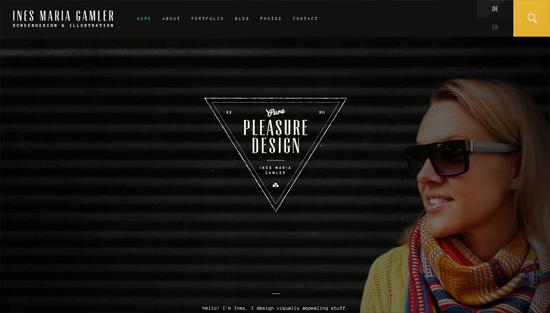 Photo background example: Pure Pleasure Design