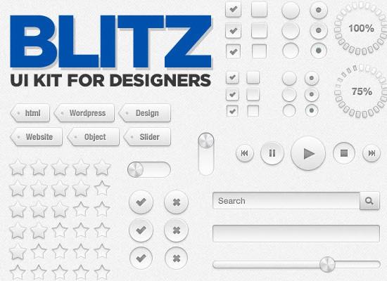 Blitz PSD UI kit