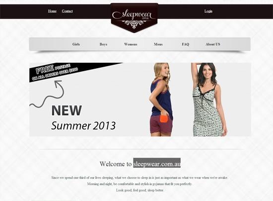 sleepwear.com.au