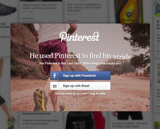 Example 1: Pinterest