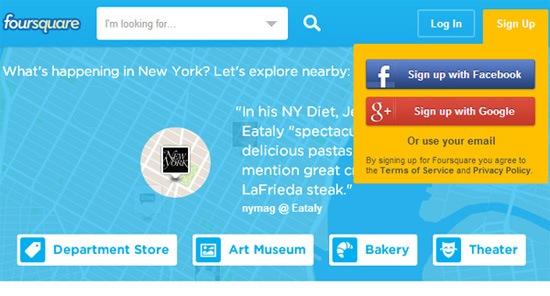 Example 12: Foursquare