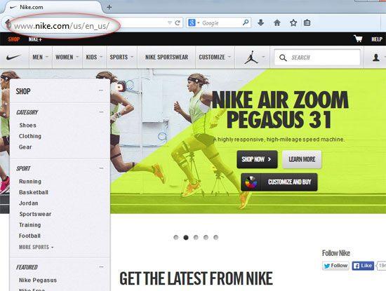 Nike.com (U.S.)