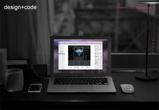 Dark web design: Design+Code