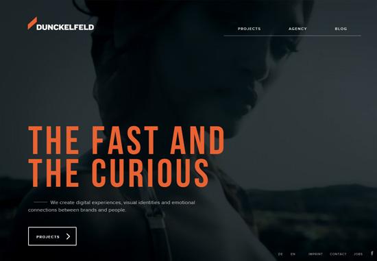 Dark web design: Dunckelfeld