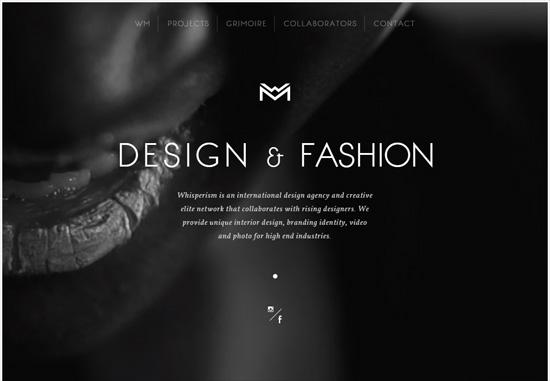 Dark web design: Whisperism