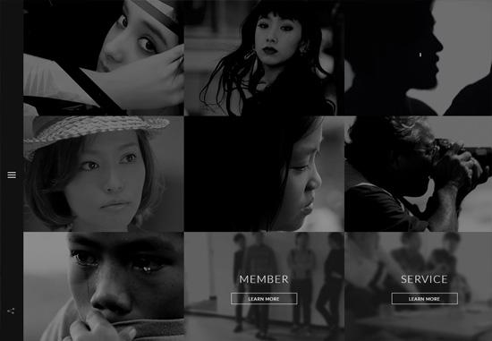 Dark web design: Tokyo Mild Foundation