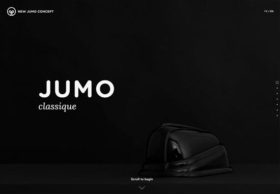 Dark web design: JUMO