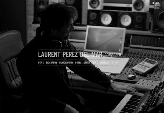 Dark web design: Laurent Perez Del Mar