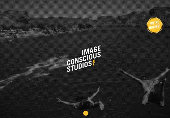 Dark web design: Image Conscious Studios