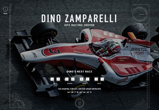 Dark web design: Dino Zamparelli