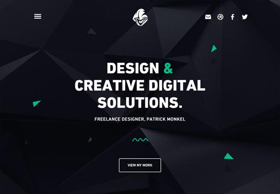 Dark web design: Patrick Monkel