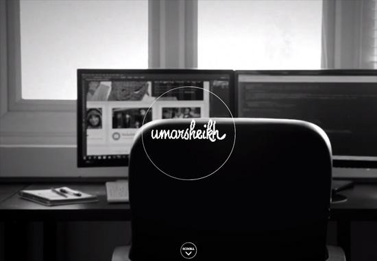 Dark web design: Umar Sheikh