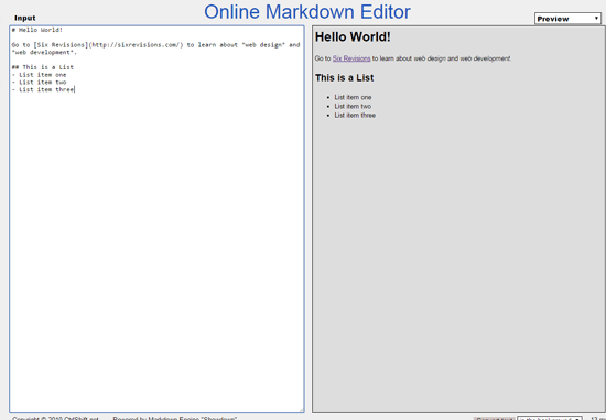 10 Free Online Markdown Editors | WebFX