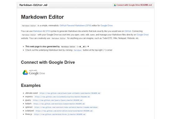 Markdown-Editor