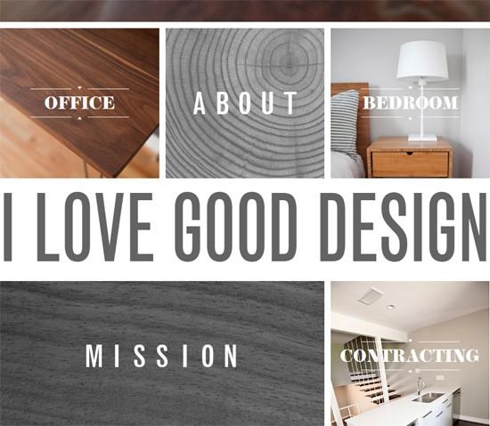 Web typography example: Chris Wilhite