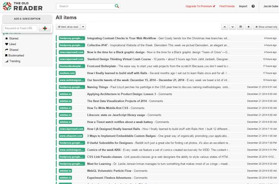 Top 10 Free Online RSS Readers