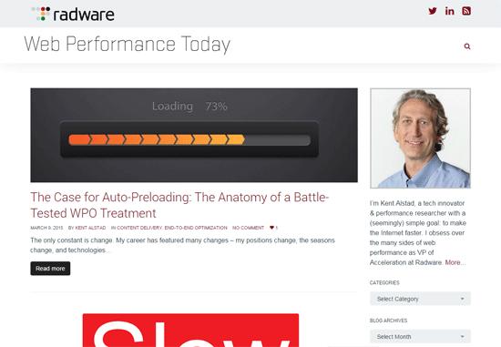 Web Performance Today blog