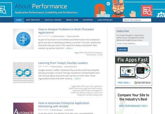 About:Performance - Dynatrace blog