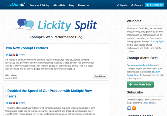 Zoompf Web Performance Blog