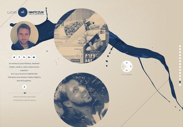 Earth-toned web design: Lucas 'NK' Nikitczuk