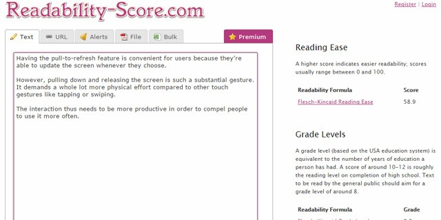 Readability-Score