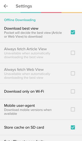 Pocket network awareness UX