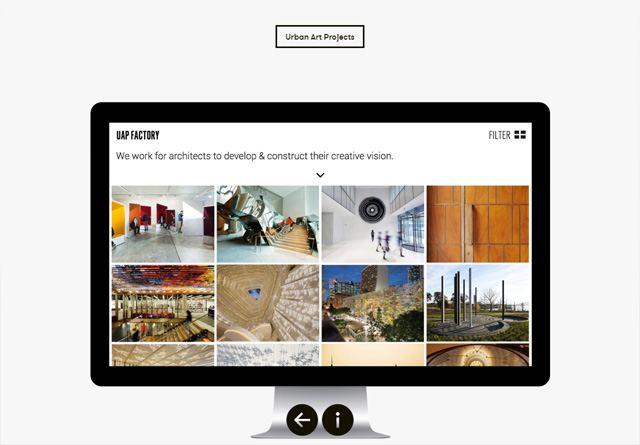 Screenshot of a clean website: One Iota