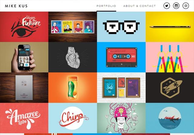 Portfolio website: Mike Kus