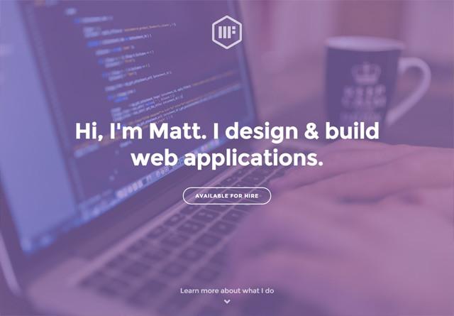 Portfolio website: Matt Farley