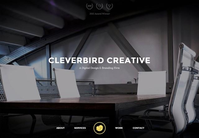 Portfolio website: Cleverbird Creative