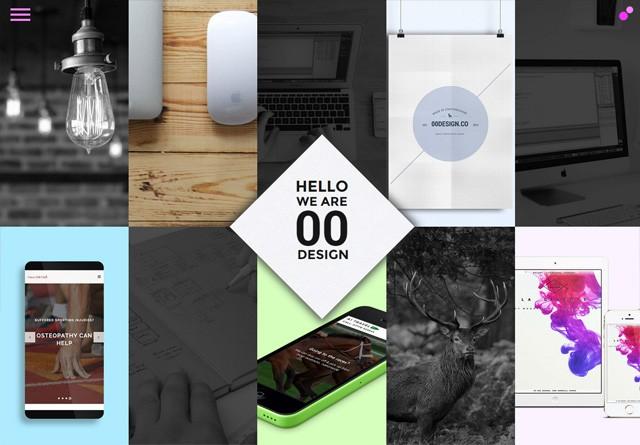 Portfolio website: 00 Design