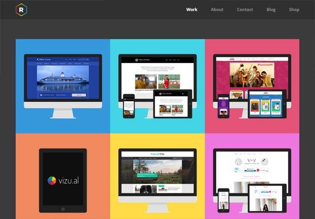 Portfolio website: Redel Bautista
