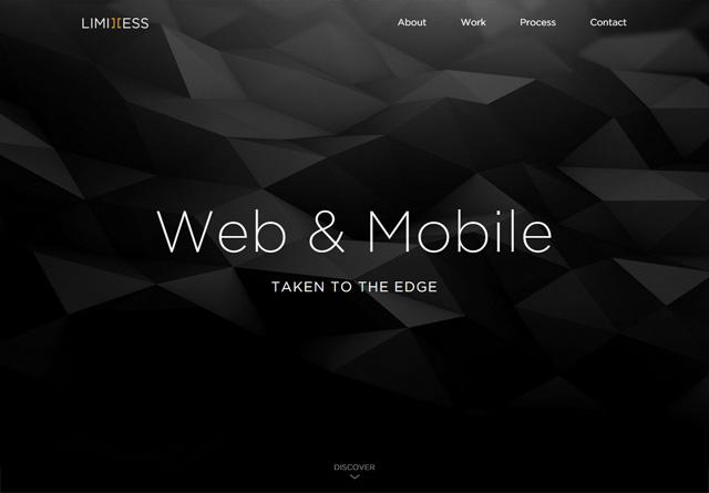 Portfolio website: Limitless
