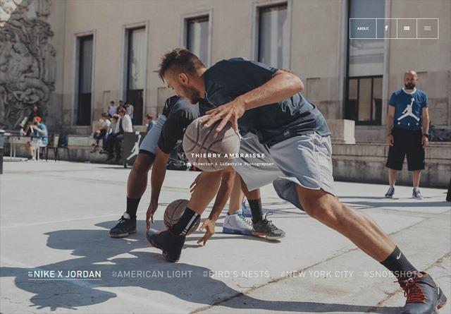 Portfolio website: Thierry Ambraisse