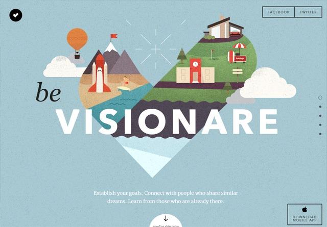 App Website: Visionare