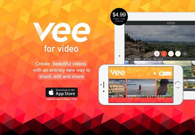 App Website: Vee for Video