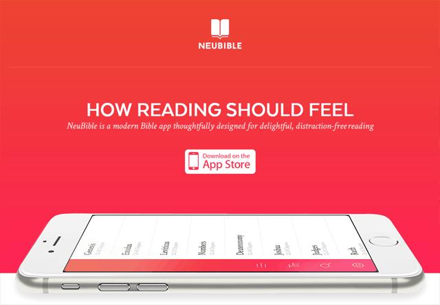 App Website: NeuBible